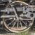 oude · stoomlocomotief · ijzer · wielen · technologie · metaal - stockfoto © deyangeorgiev