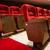 rojo · cine · sala · cómodo · terciopelo - foto stock © deyangeorgiev