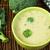 緑 · クリーム · ブロッコリー · スープ · 周りに · ボウル - ストックフォト © deyangeorgiev