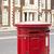 brit · piros · posta · doboz · izolált · fehér - stock fotó © deyangeorgiev