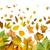 najaar · grens · element · bladeren · vijf · esdoornblad - stockfoto © deyangeorgiev