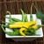 small thin green chili peppers stock photo © deyangeorgiev