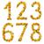 ingesteld · nummers · witte · geïsoleerd · textuur - stockfoto © deyangeorgiev