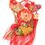 рыбы · орнамент · красный · Китайский · Новый · год · бумаги · китайский - Сток-фото © dezign56