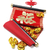 chinese scroll and gold ingots stock photo © dezign56
