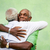 old friends two senior african american men meeting and hugging stock photo © diego_cervo