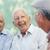 ouderen · man · glimlachend · gelukkig · geïsoleerd · witte - stockfoto © diego_cervo