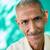 homme · souriant · caméra · portrait · supérieurs - photo stock © diego_cervo