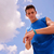 jongeren · sport · opleiding · fitness · stappen · counter - stockfoto © diego_cervo