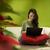 tinédzser · lány · pihen · otthon · boldog · laptop - stock fotó © diego_cervo