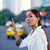 latina businesswoman calling taxi car leaving work stock photo © diego_cervo