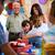 mutlu · çocuklar · doğum · günü · partisi · hediyeler · hediyeler · çocuklar - stok fotoğraf © diego_cervo