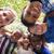 gyerekek · átkarol · kör · körül · kamera · mosolyog - stock fotó © diego_cervo
