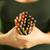 fiatal · női · művész · tart · színes · ceruzák - stock fotó © diego_cervo