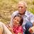 starszy · człowiek · kobieta · starych · para · piknik · starszych - zdjęcia stock © diego_cervo
