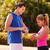 ejercicio · casa · azul · hombre · fitness - foto stock © diego_cervo