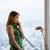 若い女性 · ペン · クローズアップ · 少女 · 書く - ストックフォト © diego_cervo