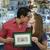 feliz · compras · proprietários · beijando · primeiro - foto stock © diego_cervo