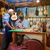 lute maker grandpa teaching grandson chiseling wood stock photo © diego_cervo