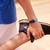 young man sports stretching using fitwatch steps counter stock photo © diego_cervo