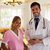 médico · médico · pessoas · felizes · isolado · branco - foto stock © diego_cervo