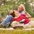 nyugdíjas · pár · idős · férfi · nő · piknik - stock fotó © diego_cervo