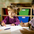 dzieci · zabawy · dwa · przedszkolaki · rysunek · przedszkole - zdjęcia stock © diego_cervo