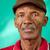 retrato · grave · edad · hombre · negro · mirando · cámara - foto stock © diego_cervo