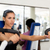 Sport people training and working out in fitness club stock photo © diego_cervo