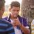 gençler · sigara · içme · sigara · erkek · duman · gençlik · kültürü - stok fotoğraf © diego_cervo
