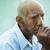 portré · szomorú · kopasz · idős · férfi · idősek - stock fotó © diego_cervo