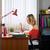 kadın · dizüstü · bilgisayar · köpek · yazarak · Evcil · güzel - stok fotoğraf © diego_cervo
