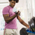 Young black man taking weights from rack in gym stock photo © diego_cervo