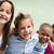 groep · kinderen · spelen · park · kind · meisjes - stockfoto © diego_cervo