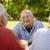 группа · старший · мужчин · смеясь · парка - Сток-фото © diego_cervo