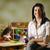 szczęśliwy · nauczyciel · dzieci · jedzenie · przedszkole · portret - zdjęcia stock © diego_cervo