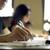 kolegium · studentów · praca · domowa · biblioteki · grupy · kobieta - zdjęcia stock © diego_cervo