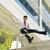 mutlu · Çin · işadamı · ray · genç · ofis - stok fotoğraf © diego_cervo