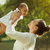 anne · oynama · açık · sevimli · bebek - stok fotoğraf © diego_cervo