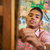 happy black boy student of art school smiling at camera stock photo © diego_cervo