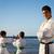kinderen · opleiding · karate · school · sport · activiteit - stockfoto © diego_cervo