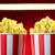 czerwony · popcorn · polu · odizolowany · biały · 3d - zdjęcia stock © diego_cervo