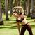 femme · sport · formation · jeunes · blond - photo stock © diego_cervo