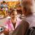 看護 · 話し · 高齢者 · 女性 · 車いす · 幸せ - ストックフォト © diego_cervo
