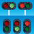 ferrovia · semafori · strada · metal · segno · treno - foto d'archivio © digiselector