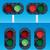 railway traffic lights stock photo © digiselector