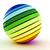 parlak · küre · kabarcık · model · çoklu · mor - stok fotoğraf © digitalgenetics