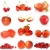 set of red fruits berries and vegetables stock photo © digitalr