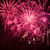 magenta · vuurwerk · viering · kleurrijk · zee · jachthaven - stockfoto © digoarpi