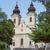 abadia · Hungria · península · lago · nuvens · sol - foto stock © digoarpi